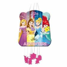 Pinata Disney Princesses Raiponce Belle Cendrillon Ariel À ficelles 28 x 33...