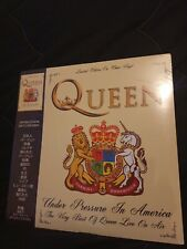 Queen-Under Pressure In America. Japan Edition In Clear Vinyl. (SEALED)
