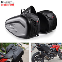 Waterproof Motorcycle Motocross Oxford Saddlebag Motorbike Tail Bag Pannier