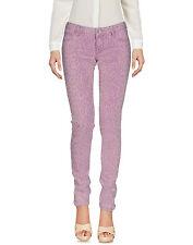 NWT GUESS Denim Pants Guess Skinny Jeans Animal Print Lilac Size 29 Cheetah