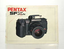 Bedienungsanleitung Pentax SFXN - (34856)