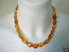 Honig Natur Bernstein Kette Collier 17,6 g/42,5 cm (Steine 1,2 - 1,7 cm) Amber