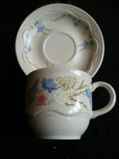 POOLE POTTERY 'SPRINGTIME' D/T COFFEE CUP & SAUCER DUO X 6  c.1980's NEAR MINT!