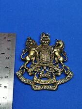 Queen Victoria Royal Artillery?? Cap/Helmet Badge Restrike