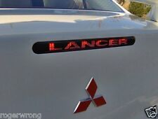 Mitsubishi Lancer 3rd brake light decal 08 09 10 11 12 13 14 15 16 17 Evo X