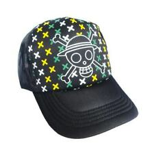 Anime One Piece Hat Cap adjustable with mesh back