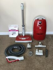 Kenmore 116 Progressive True Hepa Canister Vacuum Cleaner, 12 Amps. Red