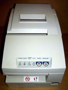 EPSON TM-H6000 II POS Thermal Ticket  Printer M147B PSU