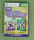 2012 Microsoft XBOX 360- Kinect Sports Ultimate Collection- 2 Disc
