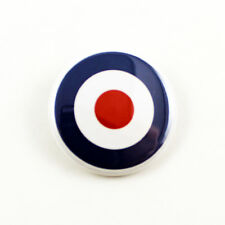 MOD Target - 1 1/4 Inch Pinback Button - RAF Roundel The Who The Jam