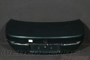 > BMW 7er E65 Boot Lid Rear Flap Green Rear Eyelid Flap <
