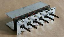 Pièce détachée Amplificateur SCOTT A436.Six contacteurs à bascule de sélection.