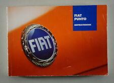 Instructieboek Fiat Punto 01/2006