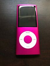Apple iPod Nano 4th Generation Pink (8 GB) Bundle Nice Shape Tested Working