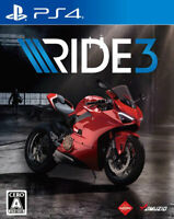 RIDE3 Sony Playstation 4 PS4 Video Games From Japan Tracking USED