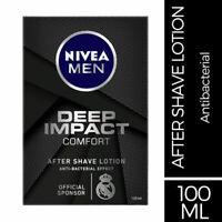 Nivea Men Deep Impact Comfort After Shave Lotion 100ml Deep comforts the skin