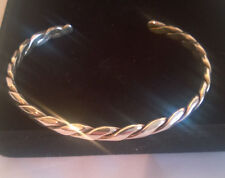 Mexican Silver .925 Twisted Cuff Bracelet (14.1gms)
