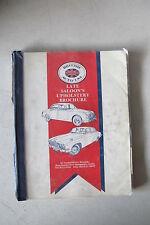 British Auto / USA Jaguar Late Saloon's Upholstrey Brochure