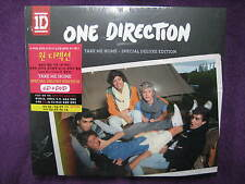One Direction / Take Me Home (SPECIAL DELUXE EDITION CD & DVD) New SEALED