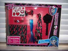 Monster High Ghoulia Yelps 12 PC Boxed CLAWSOME FASHION SET Girl's Dress Up