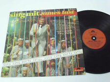 JAMES LAST Sing Mit - 1973 GERMANY LP - DIF label