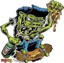 """2 Twisted"" Skateboard Fiend STICKER Decal Dirty Donny DD49"