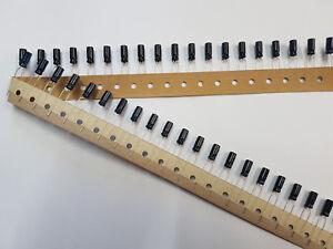 100x Elko 22µF 22uF 50V RM2/5 5x11mm Gurt Kondensator electrolytic capacitor