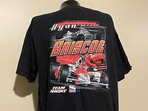 RYAN BRISCOE IndyCar Team Penske INDIANAPOLIS 500 3XL t shirt Indy 500 racing