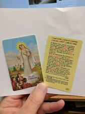 Our Lady of Medjugorje Prayer Card Laminated to the Mother of Goodness
