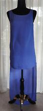 *Sass & Bide* BNWT Stunning blue SILK short front/long back dress (UK 8)