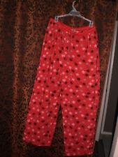 Croft & Barrow, women's comfy red, casual lounge/sleep pants, sz XL