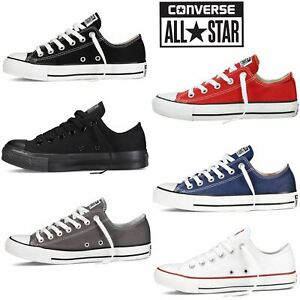 Converse All Star Unisex Chuck Taylor New Mens Womens Low Tops Trainers Pumps