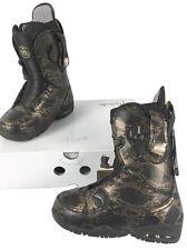NEW $300 B Burton Modern Snowboard Boots! US 6 UK 4 Mondo 23 Euro 36.5 Snakeskin