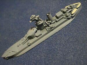 "Vintage Metal Waterline Ship Model Roberts British WWII 3-3/4"" long"