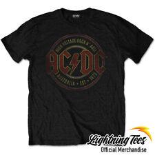 Oficial de AC/DC est 1973 Banda De Rock Acdc T-Shirt
