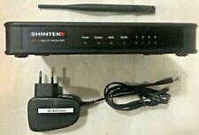 Modem Router ADSL WIFI. SHINTEK FMR32149, WIRELESS ADSL 2/2+ ROUTER 4 PORT