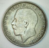 1921 Great Britain Silver Florin Coin YG You Grade Silver UK Coin George V