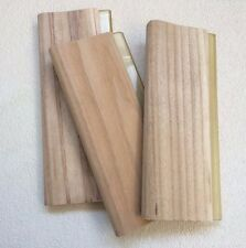 "13"" / 33cm Screen Printing Squeegees Brandnew Wood Scraper  3 pcs"