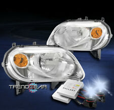 For 2006-2011 Chevy HHR LS LT SS Replacement Headlights Lamp Chrome w/8K HID Kit