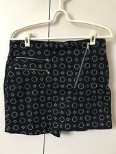 Divided By H&M Skirt SiZe 12 Black N White Circle Dots Plus