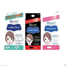 Kao Biore Nose Cleansing Strips Pore Pack T-zone Black | Blackhead Japan |3 Pack