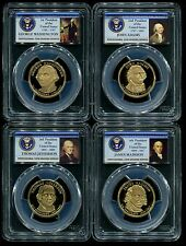 2007 S Presidential $1 Dollar 4 Coin Proof Set PCGS PR70 DCAM New Holders!
