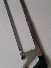 """STANLEY 20"""" 15-160 HACKSAW HACK SAW 12"""" BLADE PREOWNED"""