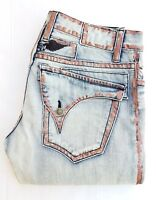 CHRISTMAS SPECIAL! New Men's ROBIN'S JEAN sz 38 Straight Waxed Jeans