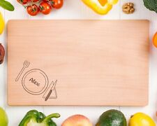 Personalised Wooden Chopping Cutting Board  - Design 77 -