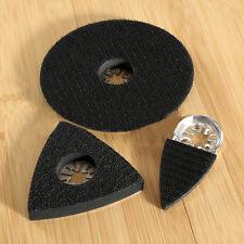 3Pcs Set Sanding Pads Saw Blades Oscillating Multi Tool For Bosch Worx Tch Fein