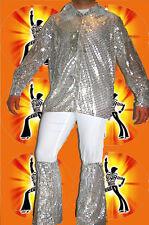 254 ✪ Mega 60er 70er Years Hippy Glitter impact blows Revival Glam Silver