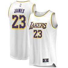 'LEBRON JAMES' Lakers YOUTH Fanatics Association Edition Jersey Sz M-Brand New!!