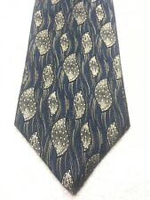 DAMON MENS TIE BLUE AND GRAY 3.5 X 57 NWT