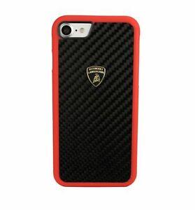 Lamborghini Elemento D3 Bi-Material TPU Ultra Thin Carbon Back Сase iPhone 7 / 8